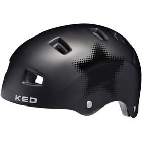 KED Risco Casque, black star matte
